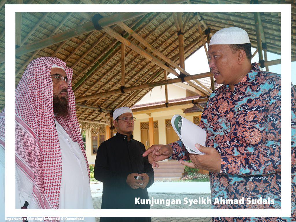 Kunjungan Syeikh Ahmad Sudais